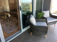 Balcony Furnishing, Looking into Living Space