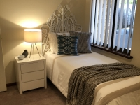 Single Size Bedroom Staging