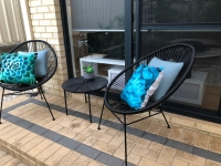 Small Outdoor Area Staging