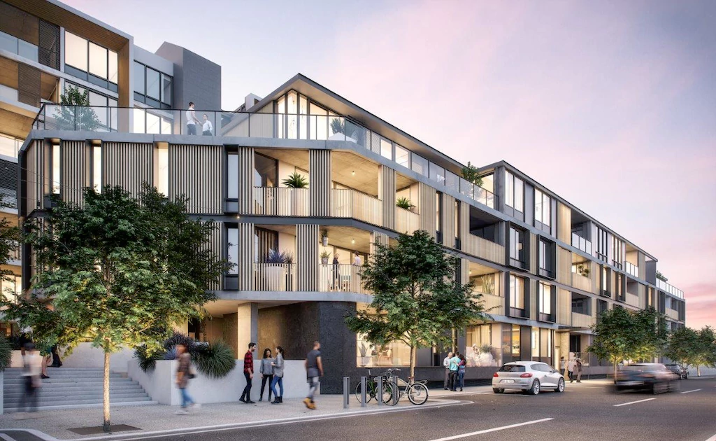Future apartment development in Fremantle