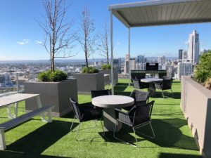 commercial fitouts outdoors