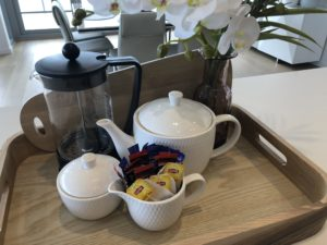 property management support tea and coffee